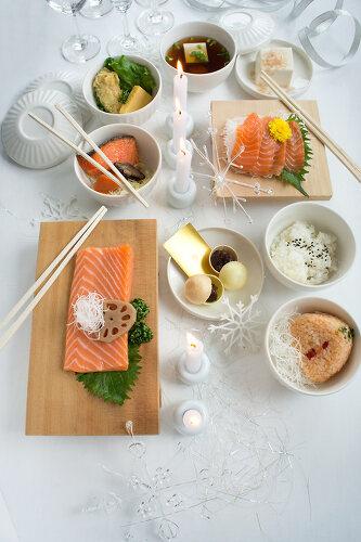 Sushi for Christmas