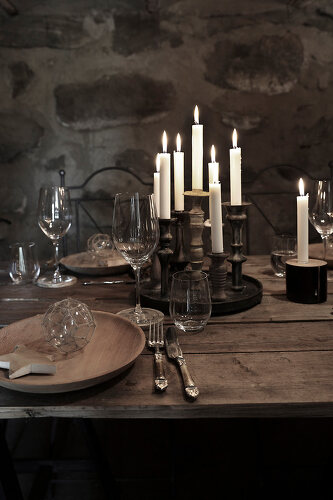 Christmas in a Wine Cellar