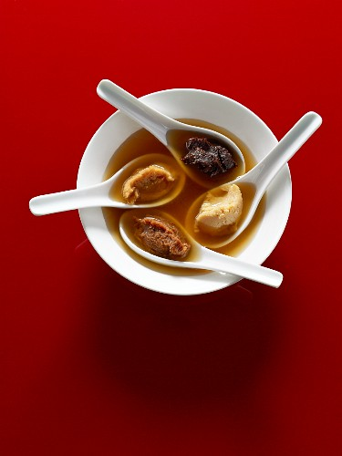 Miso soup and miso pastes
