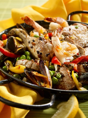 Paella (Low Carb)
