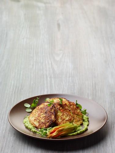 Frittelle von Zucchini und Ricotta