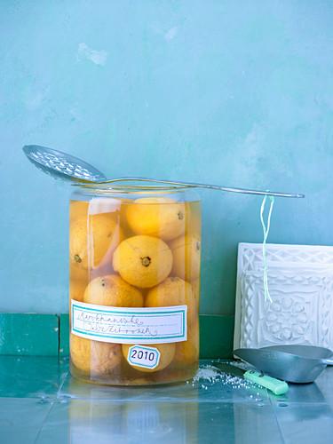 Moroccan salted lemons