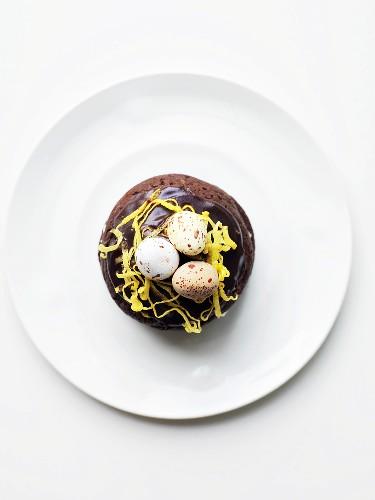 Whoopie Pie mit Zuckereiern für Ostern