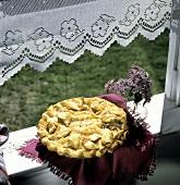 Apple pie; still life
