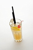 Tom Collins (Long drink made with gin and lemon juice)