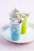 Cucumber and radish smoothies