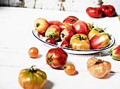 Various Heirloom Tomatoes