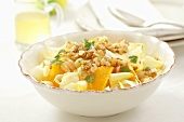Chicory, orange and walnut salad for Easter
