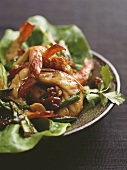 Tom su rang me (King prawns with tamarind, Vietnam)