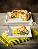 Torta pasqualina (Spinach and egg pie for Easter)