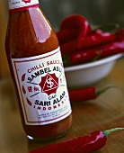 Sweet and spicy chili sauce 'Sambel Asli'