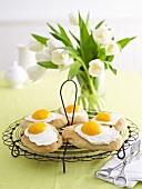 Fried egg cakes