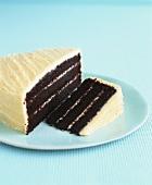 Devil's food cake (Chocolate layer cake)