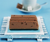 Chocolate and ginger fudge