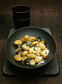Gnocchi with sage and Parmesan