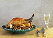 Roasted Bresse chicken