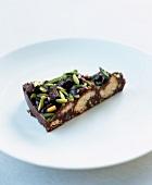 Chocolate pistachio cake