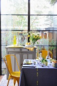 A table laid for spring