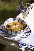 Tom Yum Gung (Prawn soup, Thailand)