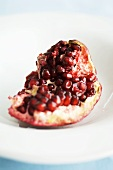 Pomegranate, broken open