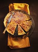 Caramelised pumpkin pie