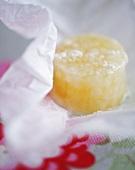 A home-made lemon sweet