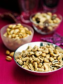 Spicy nuts (Christmas snack)