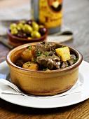 Lamb ragout with potatoes (Spain)