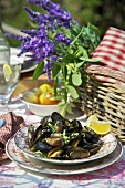 Mussels with cider (France)