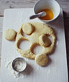 Cut-out scones