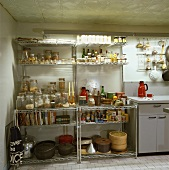 metallregal küche