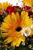 Blumenstrauss, Nahaufnahme