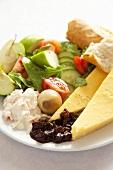 Ploughman's lunch (UK)
