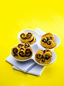Palmiers with tapenade
