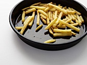 Chips in a baking dish