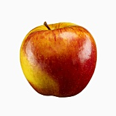 A red and yellow apple