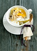 Millet muesli with fruit