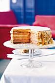 Mignon tart (shortcrust cake with lemon buttercream)