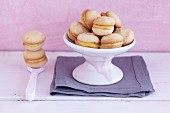 Cardamom biscuits with orange marzipan