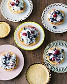 Baking with stevia: tartlets with very quark