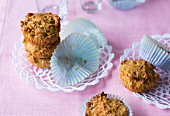 Baking with stevia: muesli muffins with amaranth