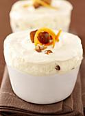 Date and ice cream soufflé