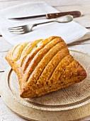 Chicken and ham pasty