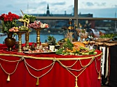Julbord (a Swedish Christmas buffet)