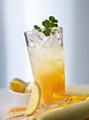 Andalusia cooler with bitter lemon and sherry