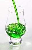 Mini liqueur over ice