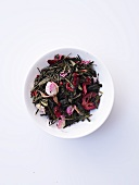 Fruit tea blend (green tea, rose, cranberries)