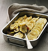 Parsnip bake with minced meat