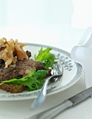 Meat loaf with apple chutney