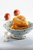 Frittelle di mele (mini Italian apple cakes)